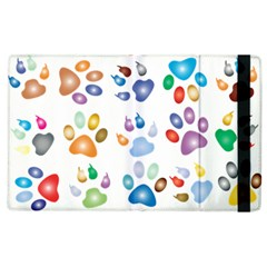 Colorful Prismatic Rainbow Animal Apple Ipad 2 Flip Case by Amaryn4rt