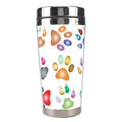 Colorful Prismatic Rainbow Animal Stainless Steel Travel Tumblers by Amaryn4rt
