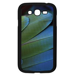 Feather Parrot Colorful Metalic Samsung Galaxy Grand Duos I9082 Case (black)