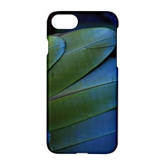 Feather Parrot Colorful Metalic Apple Iphone 7 Hardshell Case by Amaryn4rt