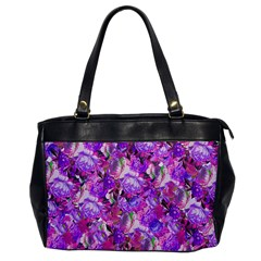 Flowers Abstract Digital Art Office Handbags