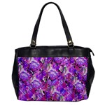 Flowers Abstract Digital Art Office Handbags Front