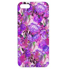 Flowers Abstract Digital Art Apple Iphone 5 Hardshell Case With Stand by Amaryn4rt