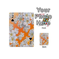 Flowers Background Backdrop Floral Playing Cards 54 (mini)