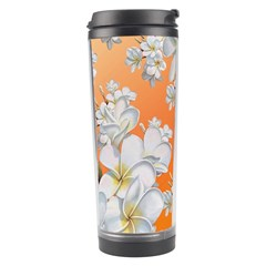 Flowers Background Backdrop Floral Travel Tumbler by Amaryn4rt