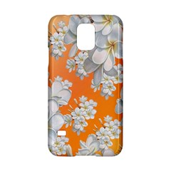 Flowers Background Backdrop Floral Samsung Galaxy S5 Hardshell Case  by Amaryn4rt