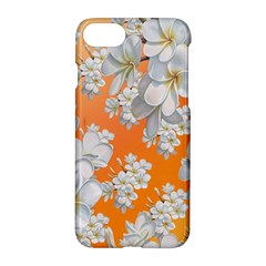 Flowers Background Backdrop Floral Apple Iphone 7 Hardshell Case by Amaryn4rt