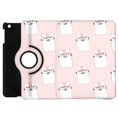 Pattern Cat Pink Cute Sweet Fur Apple iPad Mini Flip 360 Case by Amaryn4rt