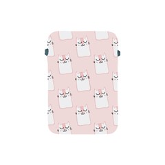 Pattern Cat Pink Cute Sweet Fur Apple Ipad Mini Protective Soft Cases by Amaryn4rt