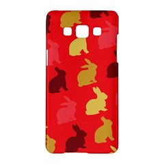 Hare Easter Pattern Animals Samsung Galaxy A5 Hardshell Case  by Amaryn4rt