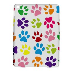 Paw Print Paw Prints Background Ipad Air 2 Hardshell Cases