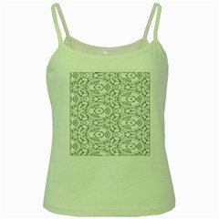 Pattern Silly Coloring Page Cool Green Spaghetti Tank