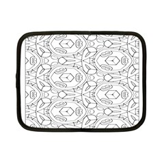 Pattern Silly Coloring Page Cool Netbook Case (small)