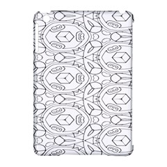 Pattern Silly Coloring Page Cool Apple Ipad Mini Hardshell Case (compatible With Smart Cover) by Amaryn4rt