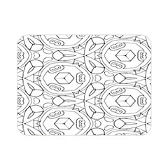 Pattern Silly Coloring Page Cool Double Sided Flano Blanket (mini)  by Amaryn4rt
