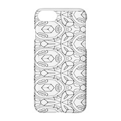 Pattern Silly Coloring Page Cool Apple Iphone 7 Hardshell Case by Amaryn4rt