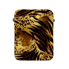 Pattern Tiger Stripes Print Animal Apple Ipad 2/3/4 Protective Soft Cases by Amaryn4rt