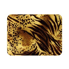 Pattern Tiger Stripes Print Animal Double Sided Flano Blanket (mini)  by Amaryn4rt