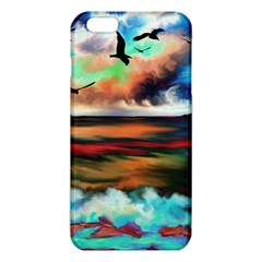 Ocean Waves Birds Colorful Sea Iphone 6 Plus/6s Plus Tpu Case by Amaryn4rt
