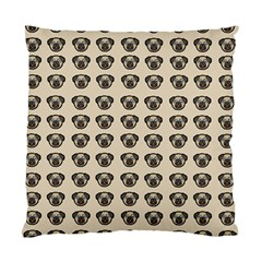 Puppy Dog Pug Pup Graphic Standard Cushion Case (two Sides)