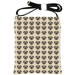 Puppy Dog Pug Pup Graphic Shoulder Sling Bags by Amaryn4rt