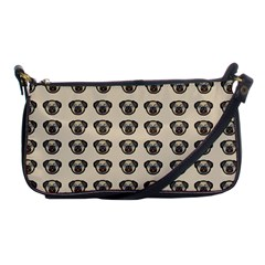 Puppy Dog Pug Pup Graphic Shoulder Clutch Bags by Amaryn4rt