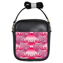Seamless Repeat Repeating Pattern Girls Sling Bags by Amaryn4rt