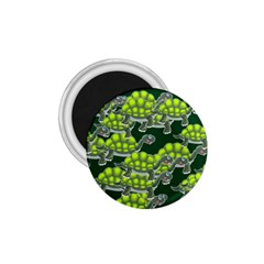 Seamless Tile Background Abstract Turtle Turtles 1 75  Magnets
