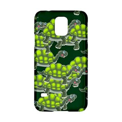 Seamless Tile Background Abstract Turtle Turtles Samsung Galaxy S5 Hardshell Case  by Amaryn4rt