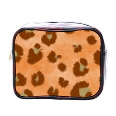 Seamless Tile Background Abstract Mini Toiletries Bags