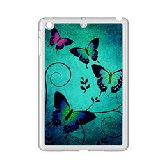 Texture Butterflies Background iPad Mini 2 Enamel Coated Cases by Amaryn4rt
