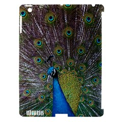 Peacock Feather Beat Rad Blue Apple Ipad 3/4 Hardshell Case (compatible With Smart Cover)