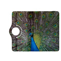 Peacock Feather Beat Rad Blue Kindle Fire Hdx 8 9  Flip 360 Case