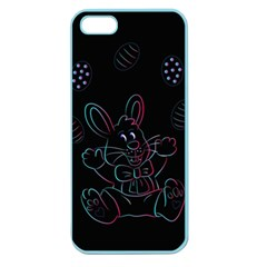 Easter Bunny Hare Rabbit Animal Apple Seamless Iphone 5 Case (color) by Amaryn4rt