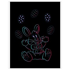 Easter Bunny Hare Rabbit Animal Drawstring Bag (small) by Amaryn4rt