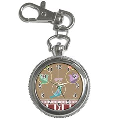 Isolated Wallpaper Bird Sweet Fowl Key Chain Watches by Amaryn4rt