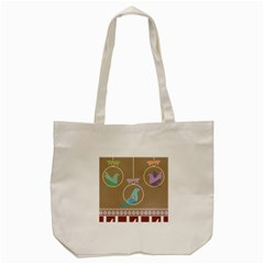 Isolated Wallpaper Bird Sweet Fowl Tote Bag (cream) by Amaryn4rt