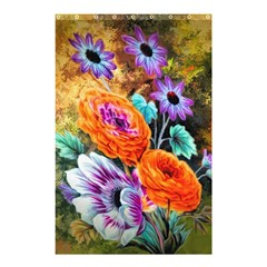 Flowers Artwork Art Digital Art Shower Curtain 48  X 72  (small)  by Amaryn4rt