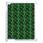 Abstract Pattern Graphic Lines Apple iPad 2 Case (White) Front