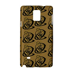 Abstract Swirl Background Wallpaper Samsung Galaxy Note 4 Hardshell Case by Amaryn4rt