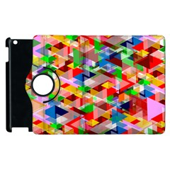 Background Abstract Apple Ipad 3/4 Flip 360 Case by Amaryn4rt