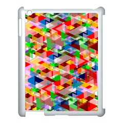 Background Abstract Apple Ipad 3/4 Case (white) by Amaryn4rt
