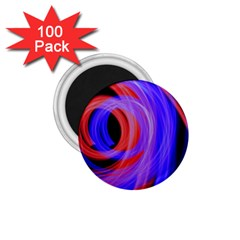 Background Blue Red 1 75  Magnets (100 Pack)  by Amaryn4rt