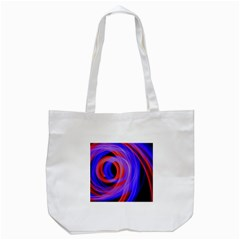 Background Blue Red Tote Bag (white) by Amaryn4rt