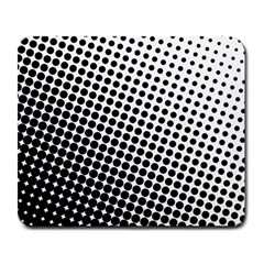 Background Wallpaper Texture Lines Dot Dots Black White Large Mousepads by Amaryn4rt