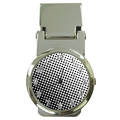 Background Wallpaper Texture Lines Dot Dots Black White Money Clip Watches