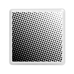 Background Wallpaper Texture Lines Dot Dots Black White Memory Card Reader (square)  by Amaryn4rt