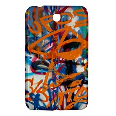 Background Graffiti Grunge Samsung Galaxy Tab 3 (7 ) P3200 Hardshell Case  by Amaryn4rt