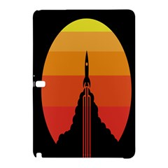Plane Rocket Fly Yellow Orange Space Galaxy Samsung Galaxy Tab Pro 12 2 Hardshell Case