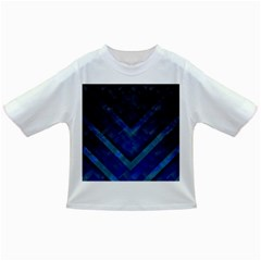 Blue Background Wallpaper Motif Design Infant/toddler T Shirts